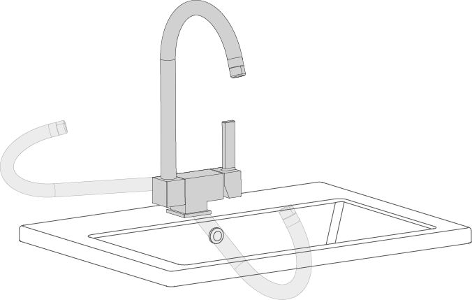 Faucets for kitchen | Grifería Clever